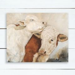 Cow Couple Wall Art