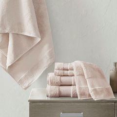 Turkish Cotton Towel Set 6 Pieces