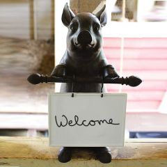 Pig Statue With Memo Board