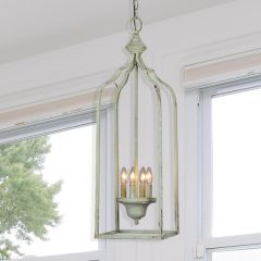 Country Cottage Metal Pendant Light
