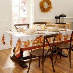 Autumn Pumpkins Rectangle Tablecloth
