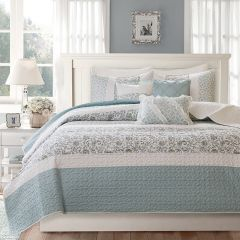6 Piece Country Cottage Bedding Set