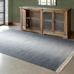 Reversible Wool Flatweave Rug