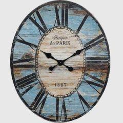 HUGE Oval Wall Clock