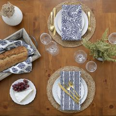 Simple Round Jute Placemats Set of 4