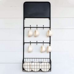 French Bottle Wall Mounted Drying Rack