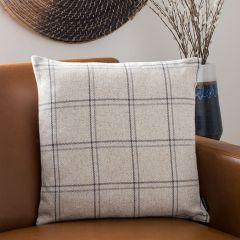 Windowpane Plaid Accent Pillow