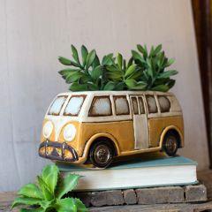 Decorative Retro Van Planter