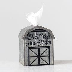 Farm Barn Tissue Box