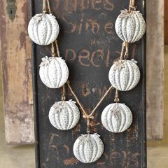 Decorative Dangling Pumpkin Garland