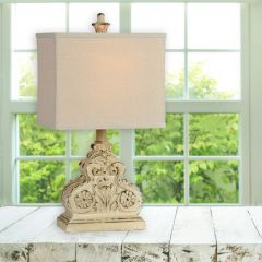 Chic Farmhouse Table Lamp Set of 2