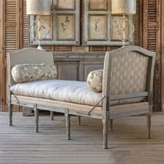 French Country Lounge Daybed