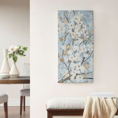 Blooming Floral Canvas Wall Art