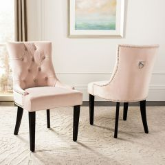Classic Cottage Tufted Chair Set of 2