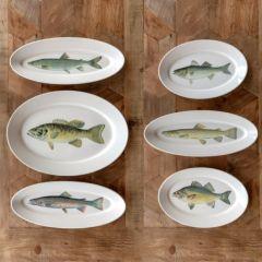 Decorative Fish Platter Collection Set of 6