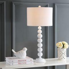Elegant Stacked Ball Lamp Set of 2