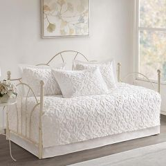 Tufted Cotton Daybed Set 5 Pieces