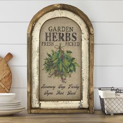 Garden Herb Arch Wall Art