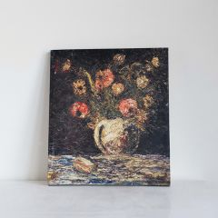 Rustic Flower Vase Canvas Wall Art