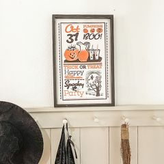 Spooky Party Halloween Sign