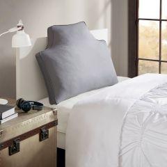 Oversized Headboard Pillow Grey