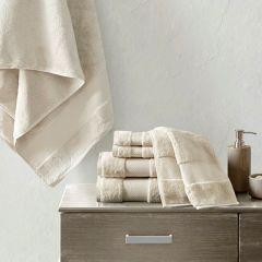 6 Piece Luxurious Cotton Bath Towel Collection