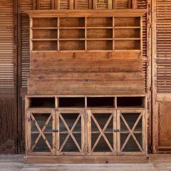 Rustic Farmhouse Display Cabinet