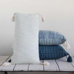 Tassel Corner Patterned Pillow Set of 3