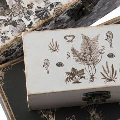 Vintage Inspired Trinket Box Collection Set of 3