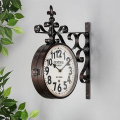 Classic Double Sided Clock