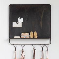 5 Hook Magnetic Board Wall Organizer