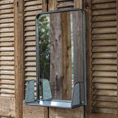 Vintage Inspired Shaving Mirror