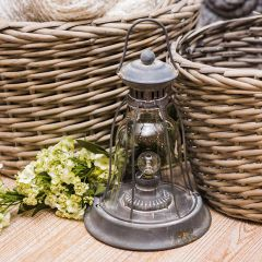 Vintage Inspired Handled LED Lantern