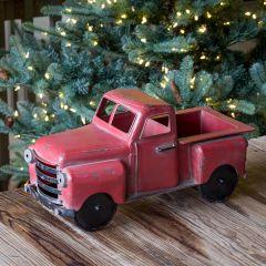 Vintage Inspired Metal Farm Truck Decor