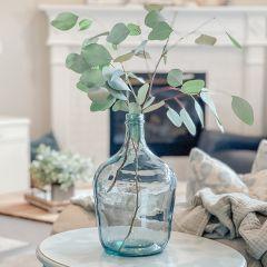 Decorative Demijohn Glass Bottle