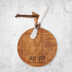 Definition of Appy Serving Board Set