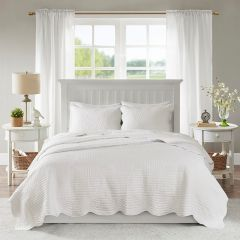 Quilted Grace Coverlet Set