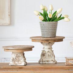 Ornate Plate Riser 7.5 Inch