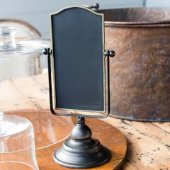 Vertical Chalkboard Sign On Stand