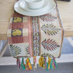 Classic Kantha Table Runner Collection Set of 4