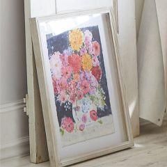 Bold Floral Shadow Box Print