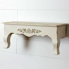 Country Table Style Wall Shelf