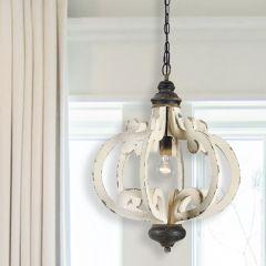 Rustic Ornate Chandelier