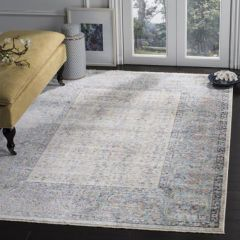 Muted Florals Farmhouse Area Rug