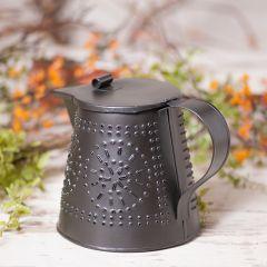 Decorative Tinpunch Design Teapot
