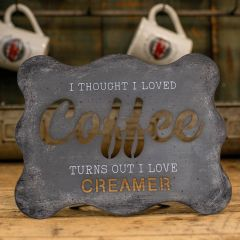 Tabletop Coffee Cutout Sign