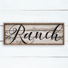 Ranch Wall Sign