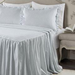 Classic Ticking Stripe Bedspread Set