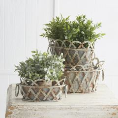 Faux Herb In Terracotta Pot Set of 3