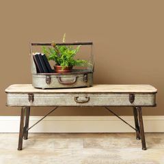 The Travelers Suitcase Bench